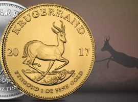 2017 brings the 1st Silver, Platinum, and new Gold Krugerrand Sizes