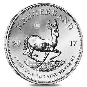 Best 2017 silver coins South Africa 1 oz Silver Krugerrand
