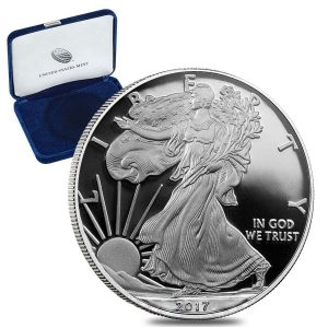 Best 2017 silver coins Proof American Silver Eagles