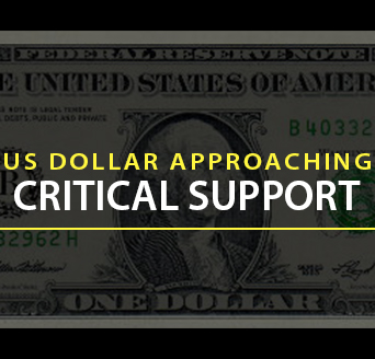 US Dollar Approaching Critical Support