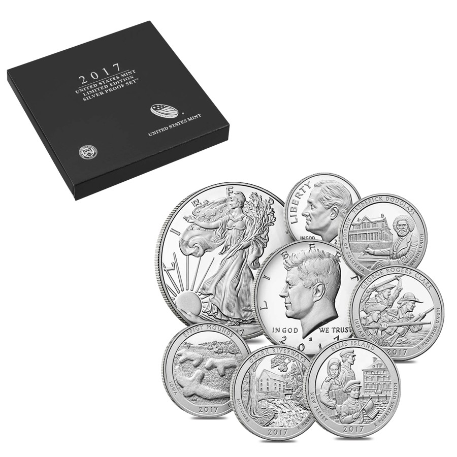 Silver Proof 2017 Limited Edition Set