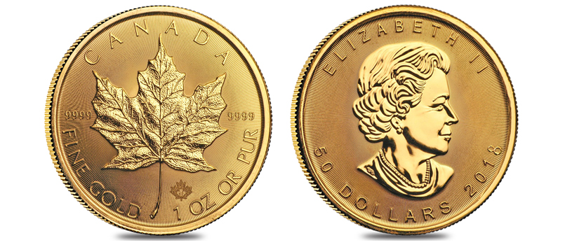 Maple Leaf Coins (2018 Gold & Silver)
