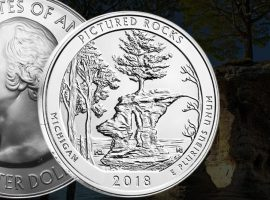 ATB Pictured Rocks Silver Coin