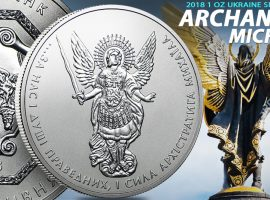 Archangel Michael Silver Coin (Patron Saint of Ukraine)