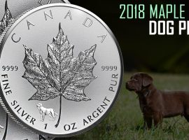 Maple Leaf Lunar Series Year of the Dog – Privy Coin
