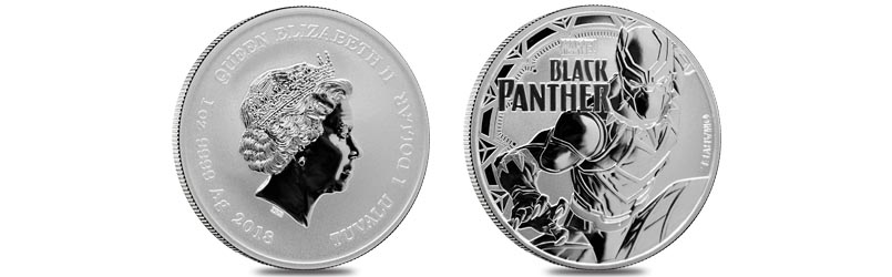 Black Panther silver coin