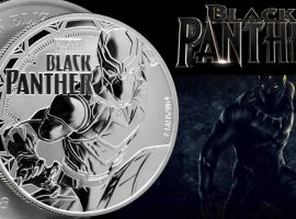 Black Panther Silver Coin (Perth Mint's Marvel Series)