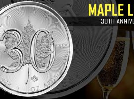 Celebrate 30 Years of Beautiful Canadian History with the 2018 Silver Maple Leaf