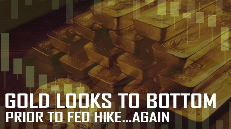 Gold Looks to Bottom Prior to Fed Hike (Again)