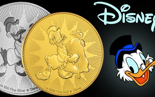Scrooge McDuck – The Latest Niue Disney Coins From the New Zealand Mint