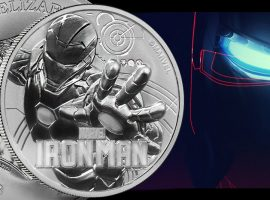 Iron Man Silver Coin – Perth Mint