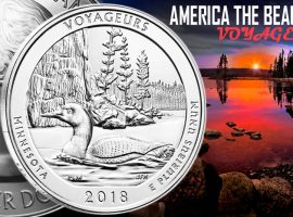 Voyageurs ATB Silver Coin by the US Mint