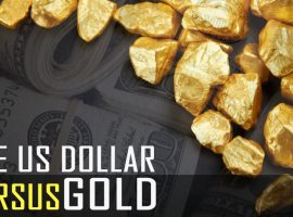 U.S. Dollar Versus Gold (Dollar Index)