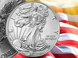 Burnished Silver American Eagle