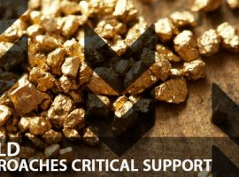 Gold Approaches Critical Support
