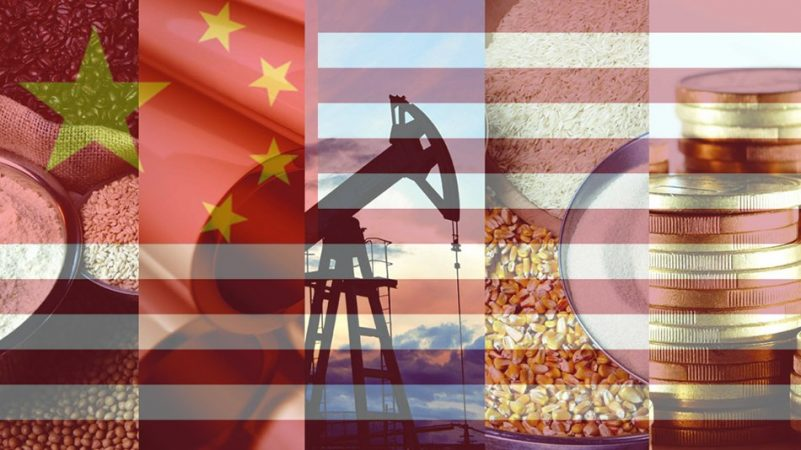 US / China Tariffs Weigh On Commodities