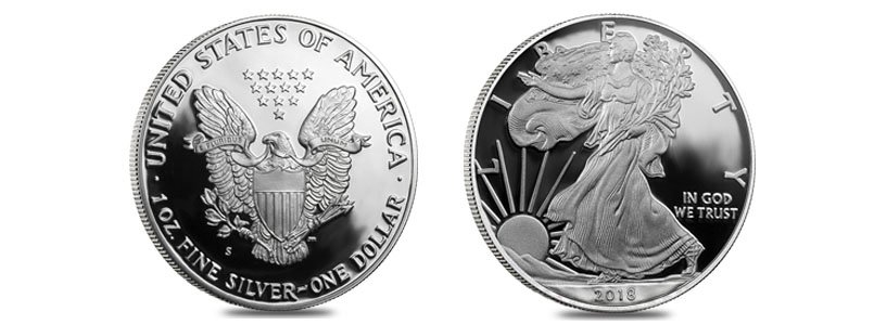 2018-S 1 oz Proof Silver American Eagle