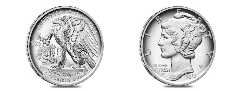 2018 Proof Palladium American Eagle