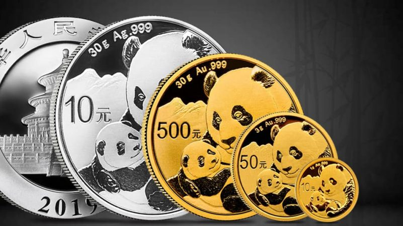 2019 Gold and Silver Panda Coins