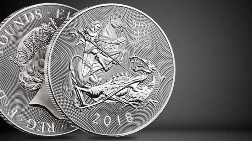 2019 10 oz Silver Valiant Coin | Royal Mint