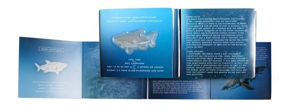 Hunters of the Deep Shark Coin