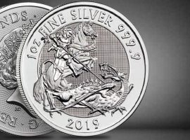 2019 1 oz Silver Valiant Coin Royal Mint