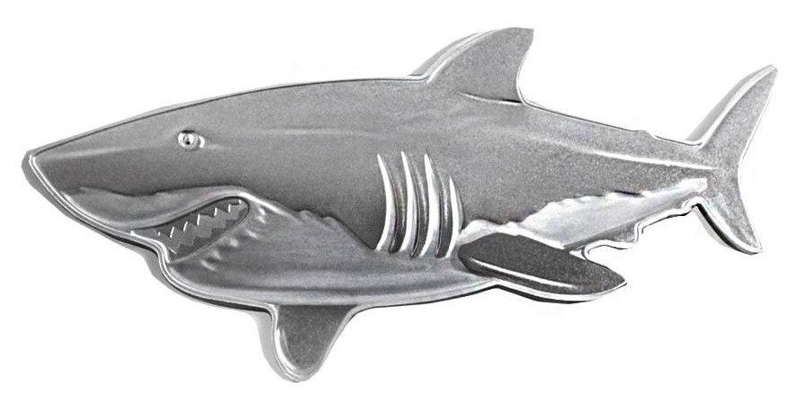 Shark coin obverse