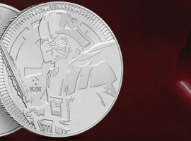 Darth Vader Silver Coin – Delve into the Dark Side