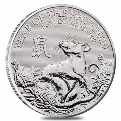 A stunning year of the rat coin features a rat among a field of flowers