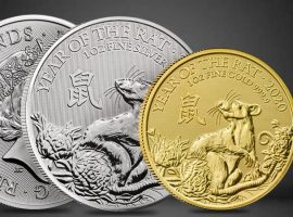 New British Lunar Coins Celebrate Year of the Rat