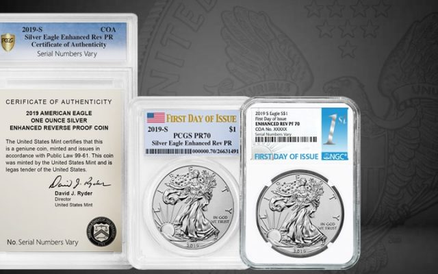 2019 Enhanced Reverse Proof Silver Eagles out Nov 14th