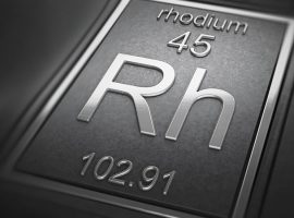 Rhodium Rides 11 Year Price High in 2020