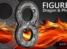 Bring Some Prosperity to Your Portfolio with the New Dragon and Phoenix Figure Eight Antiqued Coin!