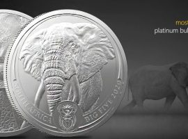 Live Life on the Wild Side with the New SA Mint Platinum Elephant Coin!