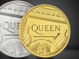 Killer Queen Coin in New Royal Mint Series