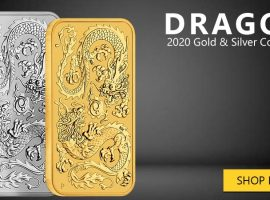 2020 Return of the Dragon Coin Bar from Perth Mint