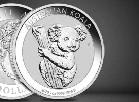 2020's Perth Mint Drops in with Silver Koala Coin