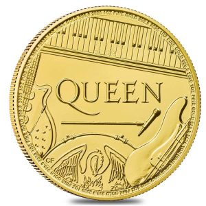 2020 Great Britain 1 oz Gold Music Legends Queen Coin .9999 Fine BU Bullion Exchanges Royal British Mint