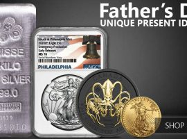 Father's Day Gifts: Top 2020 Coins and Bars
