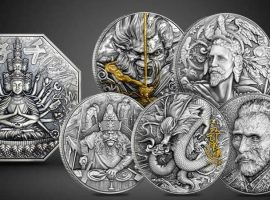 Bi-Metallic Coins Featuring History and Legendary Myths!