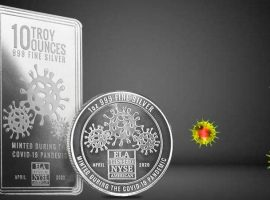 Collectible Silver Envela COVID and 2020 Bullion