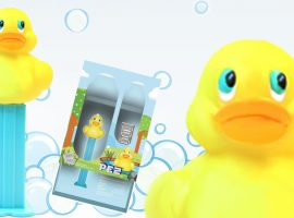 PAMP Suisse Rubber Duck PEZ Dispenser Makes a Splash!