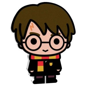 Chibi Harry Potter Silver Coin