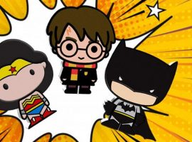 Chibi Coins, New from the Mint, Vader & Diana Prince!