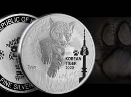 South Korean Silver Tiger Medal Prowls Into Stock