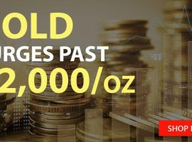 Glittering Gold Spot Prices JUMP then Fall