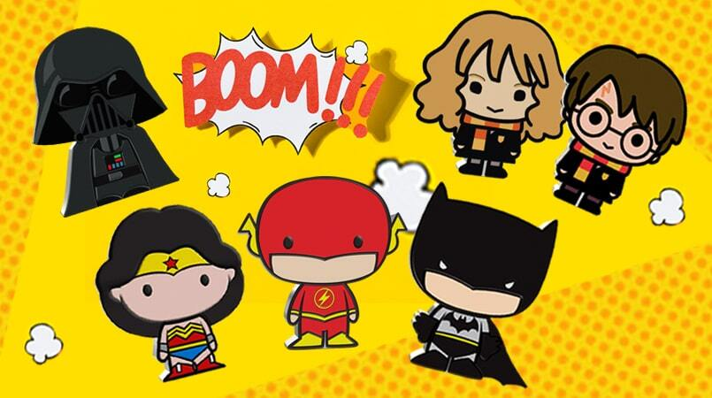 New Chibi Coins For Your Stash: Hermione and The Flash