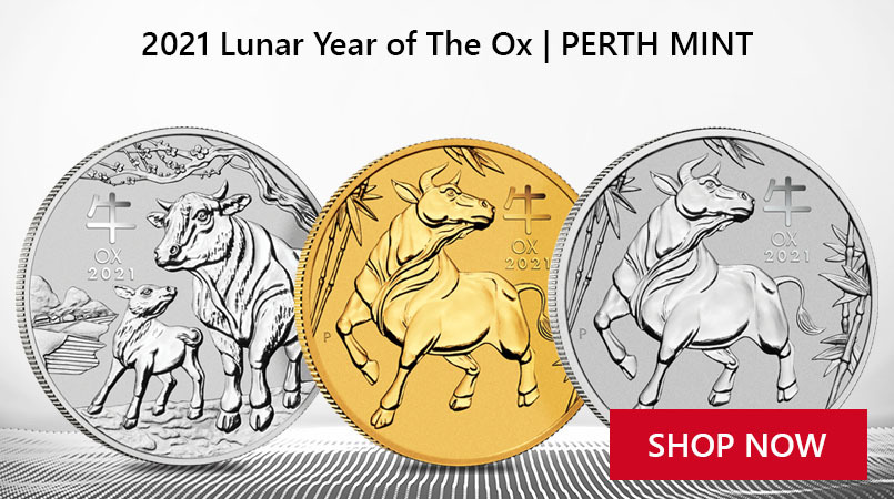 2021 Year of the Ox Perth Mint Coins Crowd in Stores