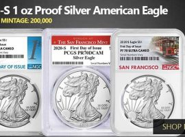 San Francisco Silver Eagle Coins Swoop In Before 2021