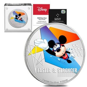 Mickey Swimming Coin
